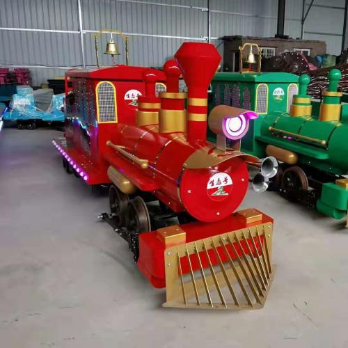 轨道蒸汽小火车